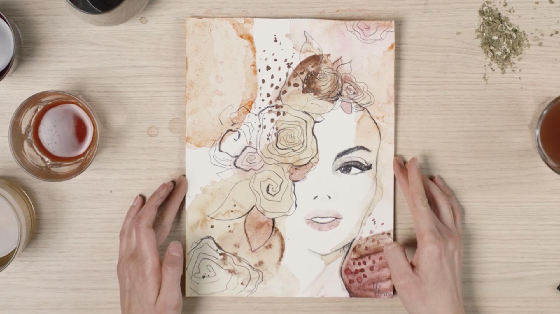 Illustrieren und Malen lernen <span>Entdecke deine kreative Ader und lerne, wie auch du Gesichter illustrieren kannst. </span>